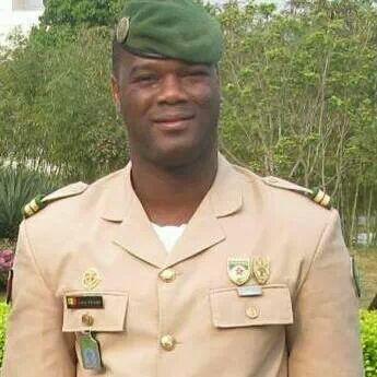 capitaine Sékou Traore alias « Bad ». Credit photo: Facebook