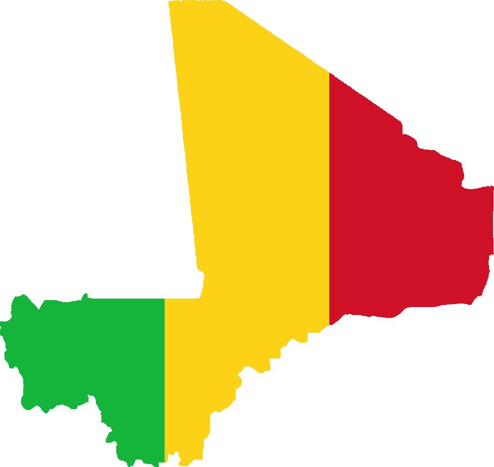 Drapeau du Mali.Crédit photo: flagartist.com