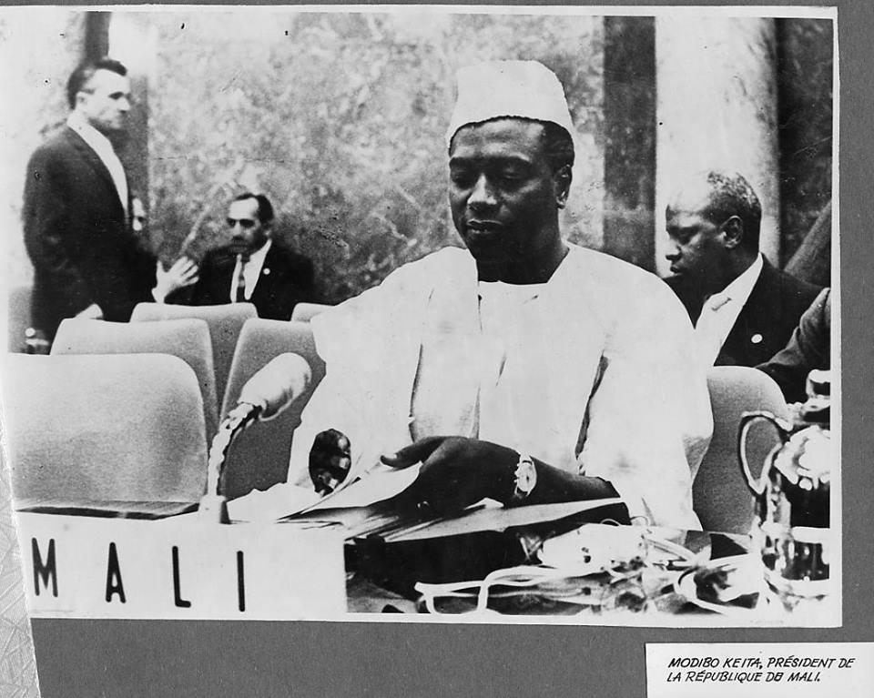 Modibo Keita, crédit photo: histoireafricaine.com
