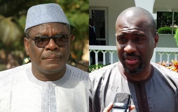 Président IBK et son PM Moussa Mara, crédit photo: maliweb.net