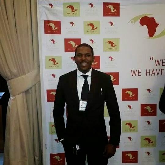 Blogueur Issa Balla Moussa Sangare, credit photo: Issa