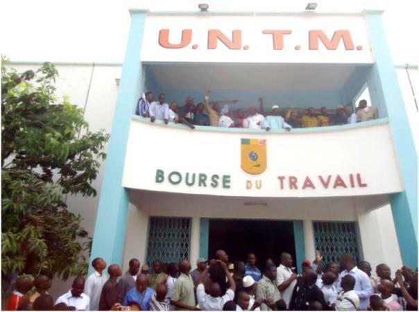 Bourse du Travail du Mali.  Crédit Photo: Bamada.net