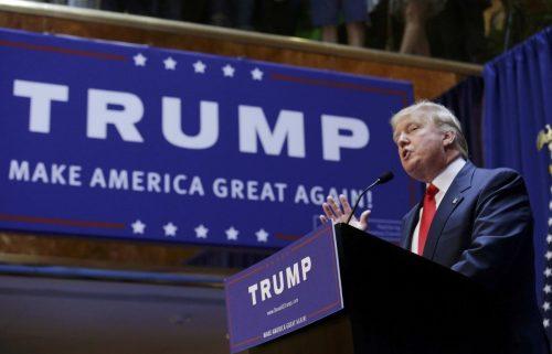 Donald Trump, le candidat des Républicains. Crédit photo: sun-sentinel.com