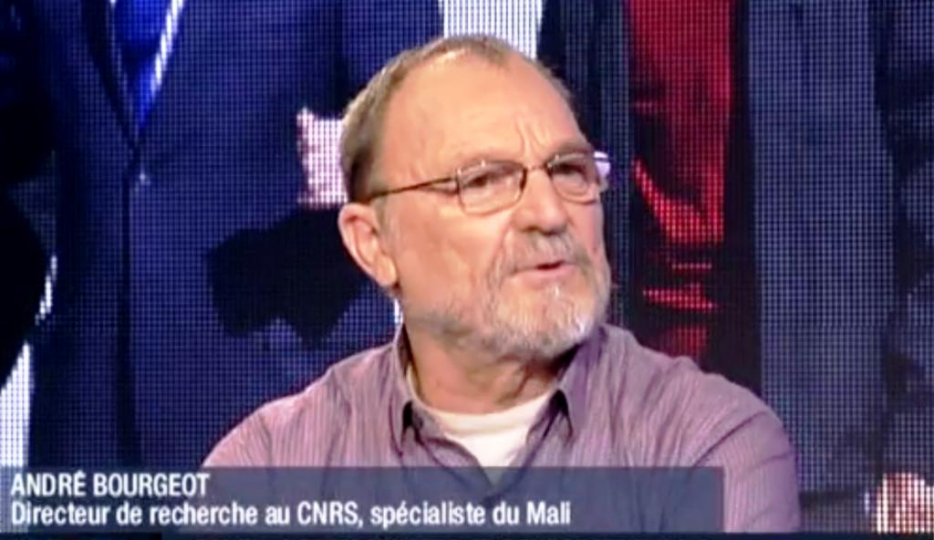 Pr André Bourgeot anthropologue, directeur de recherche émérite au CNRS